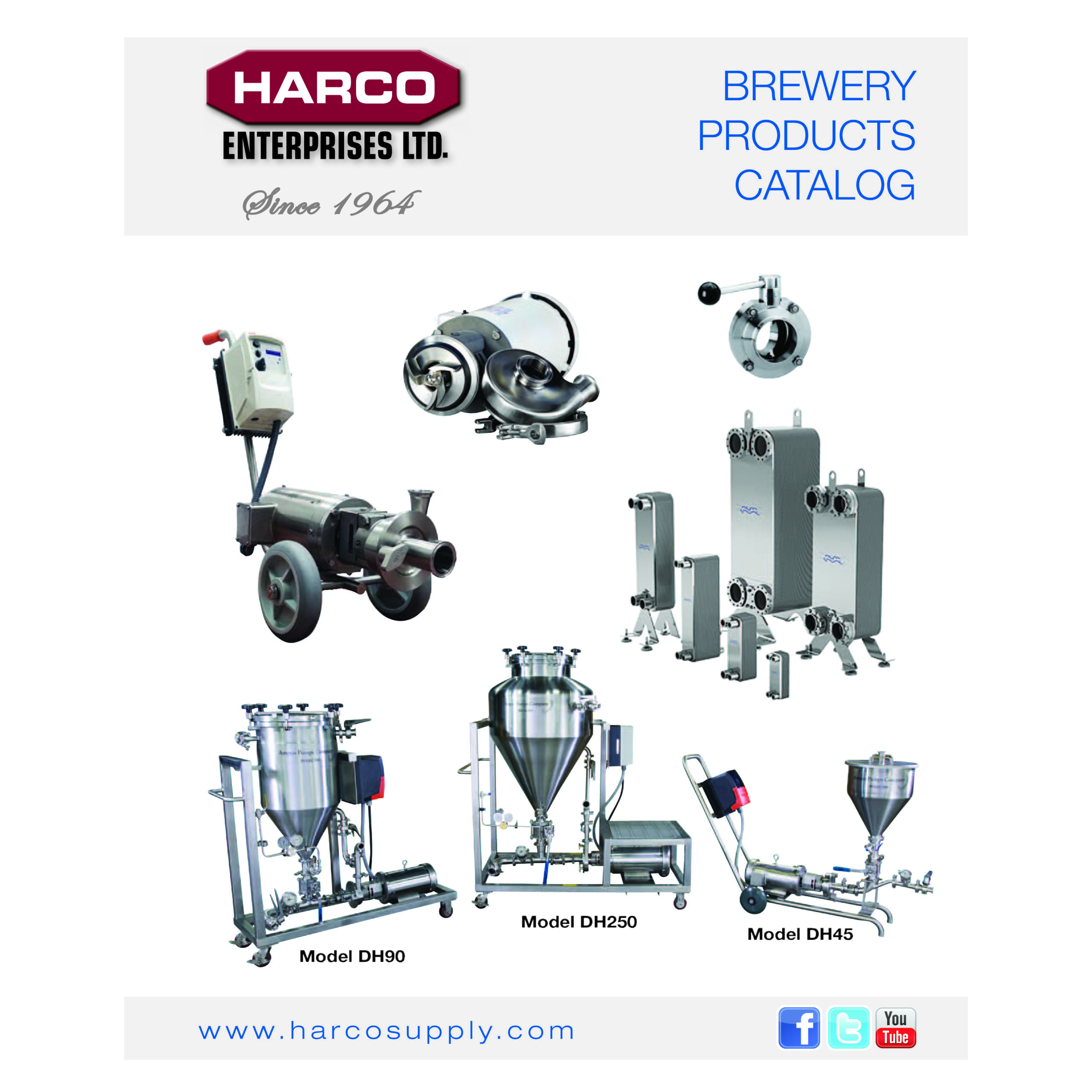 Ampco Brand Brewery Products Catalog 2021